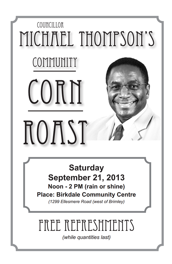 Community Corn Roast