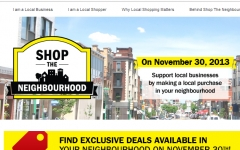 Shop the Neighbourhood Nov 30th!