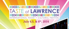 Taste of Lawrence 2014 - July 4, 5 and 6th!